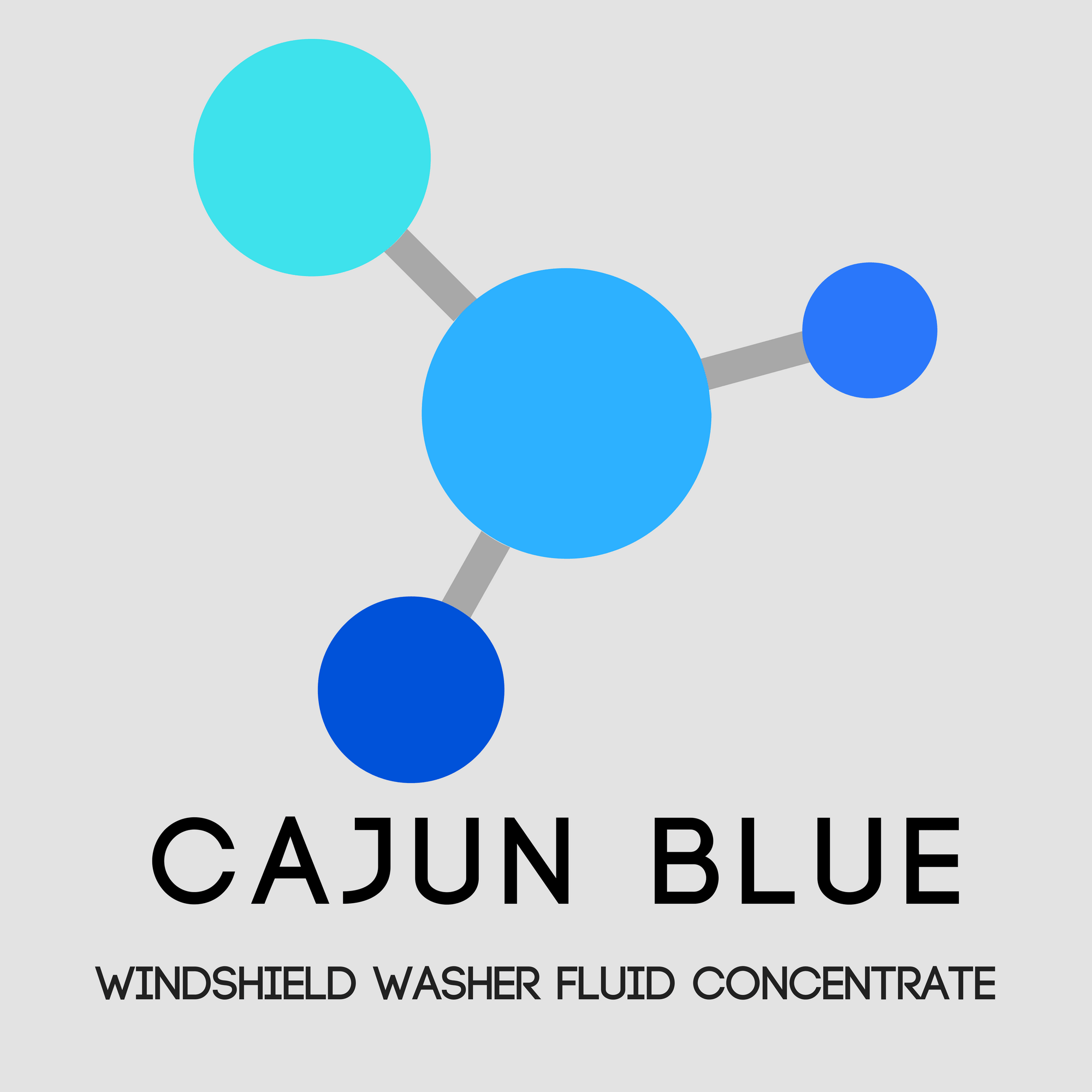 Bulk Windshield Washer Fluid Cajun Blue Now Available In